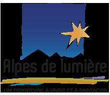 Alpes de lumière Logo